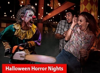 Halloween Horror Nights - Frequent Fear Plus Pass (Ingresso Eletrônico)